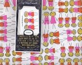 VINTAGE HAPPY KIDS GIFT WRAP - ORIGINAL PACKAGING - BONUS GIFT CARDS