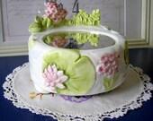 Floral Otagiri Ceramic Musical Ornament