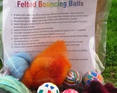 Making Felted Bouncing Balls - Complete Kit
