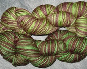 Slytherin Sock Yarn - Reserved For tuliptoe