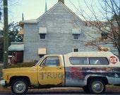 Yellow Truck, Savannah, Georgia Original Photograph