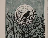 Moonlight Perch Card