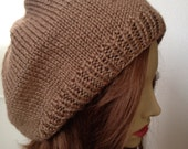 Taupe Beret...