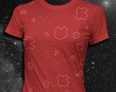 Atari Asteroids T-shirt Video game tshirt Atari Tshirt Womens shirt