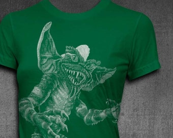 Gremlins Stripe Womens Tshirt