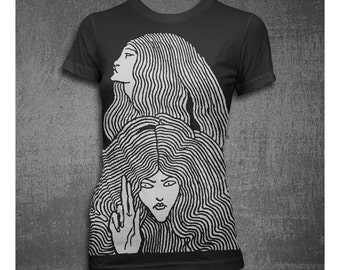 When you're Strange Womens Softstyle Tshirt