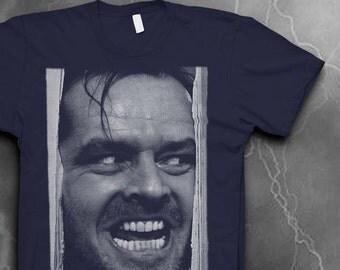 Jack Nicholson t-shirt Softstyle The Shining tshirt Mens tshirt