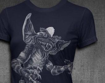 Gremlins Stripe Womens Softstyle Tshirt