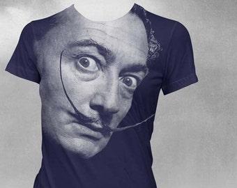 Salvador Dali tshirt Womens t-shirt Dali shirt