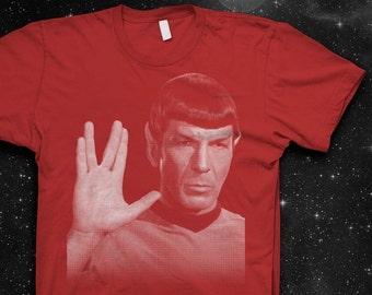 Mr. Spock Vulcan Salute