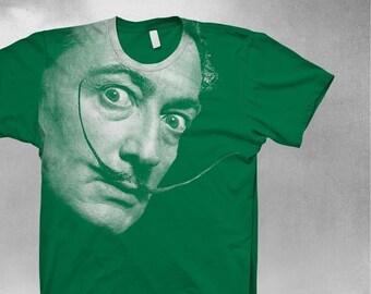 Dali shirt Unisex T-Shirt Softstyle tshirt Mens shirt Salvador Dali tshirt
