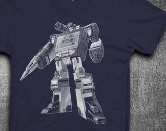 Decepticon T-shirt Soundwave T-Shirt Mens t-shirt
