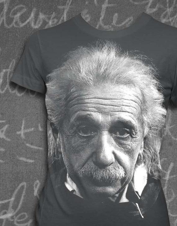 Albert Einstein Womens T-shirt