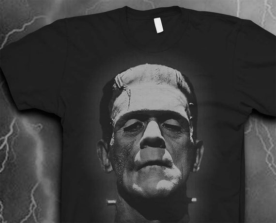Frankenstein shirt Softstyle tshirt Mens shirt Monster tshirt