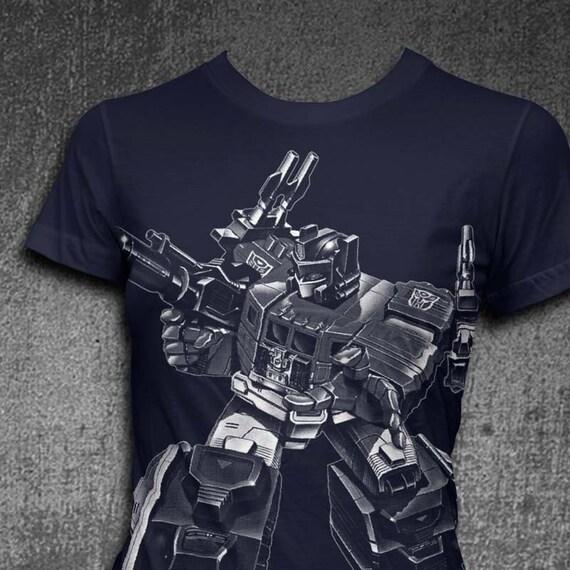 Optimus Prime T-shirt Softstyle Womens t-shirt Transformer tshirt