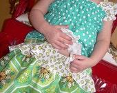 CUSTOM ORDER FOR PUSHINGTWO   Gingerblossom summer spring girls custom made Capri and top