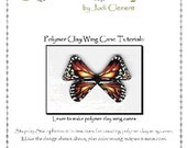 Polymer Clay Butterfly Wing Cane e-book Tutorial