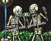 DAY of the DEAD PRINT: Dr...