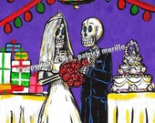 MUERTOS WEDDING PRINT: Pu...