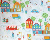 Seventies vintage childrens fabric