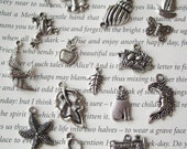 Add on a charm - variety of Tibetan Silver charms to add to custom bracelets only