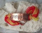 GRYFFINDOR - hand-stamped copper bracelet