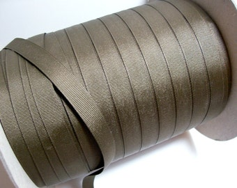 Brown Ribbon, Mocha Brown Grosgrain Ribbon 5/8 inch wide x 5 yards