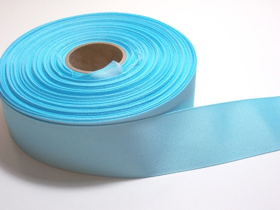 Ocean Blue Grosgrain Ribbon 1 1/2 inches wide x 3 yards CLEARANCE