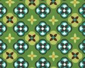 Michael Miller Sandi Henderson Meadow Tortoise Plaid Ginger Blossom Fabric 1 Yard NEW