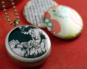 Picture Locket - MOTHER Recycled Magnetic LOCKET SET By Polarity
