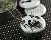 AND SEW ON Recycled Magnetic LOCKET SET By Polarity