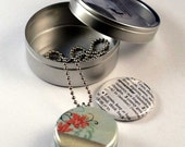 REMEMBER Me Recycled Magnetic LOCKET SET By Polarity