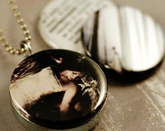 Picture Locket - Contemplate ThisYearsGirl Recycled LOCKET SET By Polarity