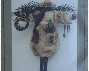 Primitive Snowman Pattern by Homebodies