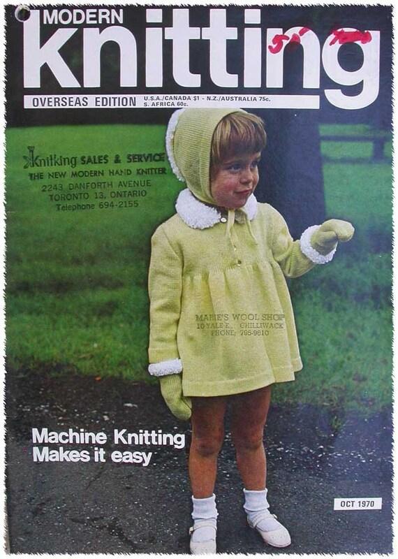 Modern Knitting Pattern Books : Modern Machine Knitting Pattern Book