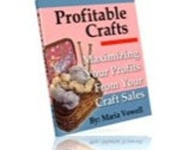 Learn How-to Earn Money Starting A Craft Business - Profitable Craft Series 1-5 - PDF