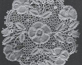 Irish Crochet and How To Make It - Crochet Instruction and Patterns - Ebook PDF