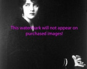 Old VINTAGE Antique GORGEOUS WOMAN Black and White PHOTO Reprint