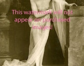 Old Vintage Antique BEAUTIFUL FRENCH NUDE Photo Reprint ...Mature