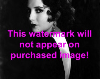 Old Vintage Antique Glamour Girl Photo Reprint