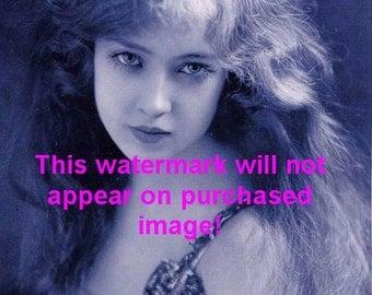 Old Vintage Antique Beautiful Flapper Photo Reprint