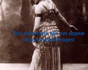 GORGEOUS MODEL Vintage Photo REPRINT