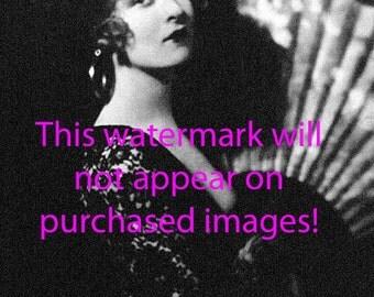 Old Vintage Antique Gorgeous 1920's Flapper Girl Photo Reprint
