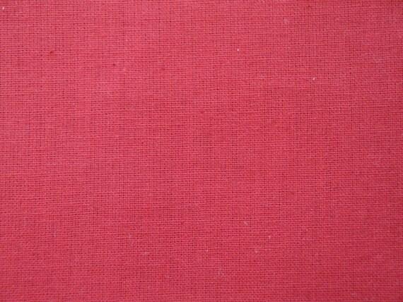 3.5 Yards New Stylemaker Red Homespun Cotton Fabric | DESTASH Fabric