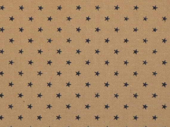 Blue Star Cotton Calico Fabric 39 x 44 DAMAGED