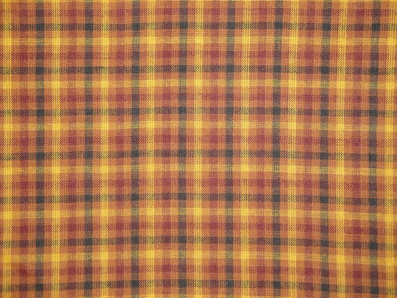 Quilt Patterns For Homespun Fabric : Plaid Fabric Homespun Fabric Quilt Fabric by kittredgemercantile