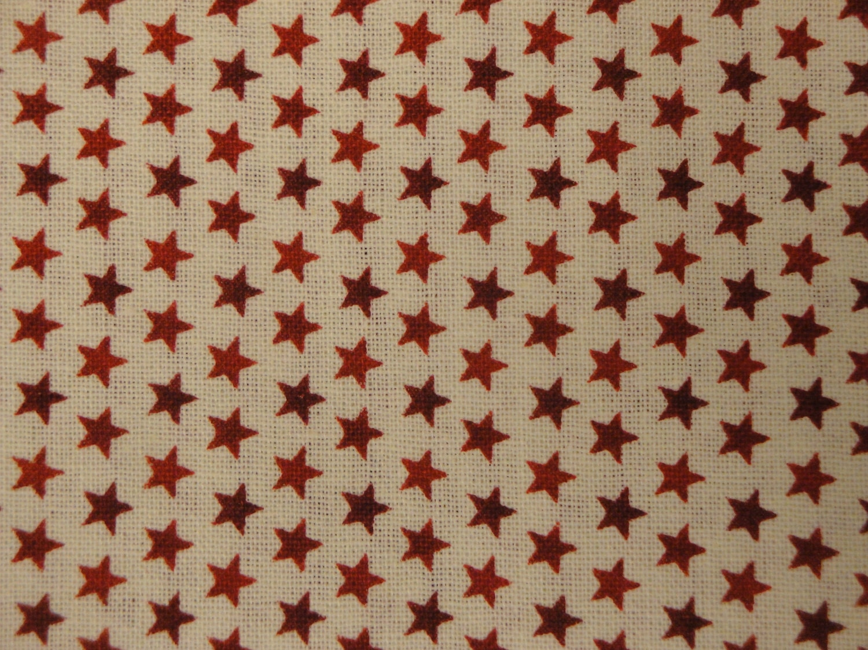 Cotton star fabric 1 yard david textile 39 s artistic for Star fabric australia