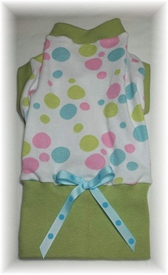 RESERVED FOR Cinderbean Pet Clothing Dress Sleeveless Fruit and Flowers Shirtdress