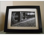 Tool Set I - Level BW - 4x6 Framed Black and White Print