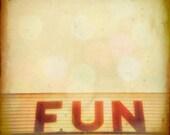 SALE - Beach photography York Maine summer vacation seaside arcade on the beach big red letters pinball skee-ball Fine Art Photo Print
